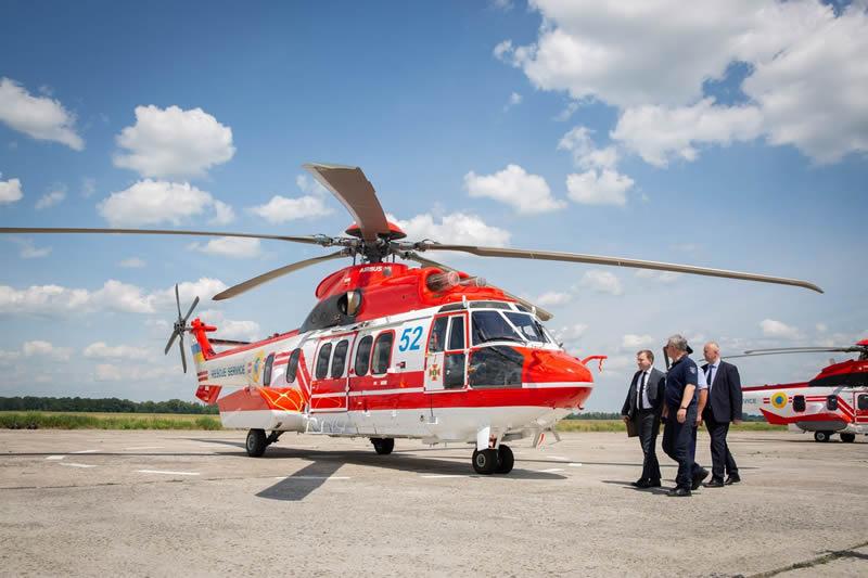 МВД заплатило €57 млн за первые четыре вертолета H225