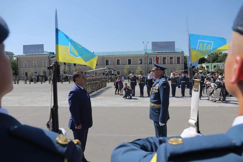 Состоялся торжественный выпуск курсантов ХНУВС