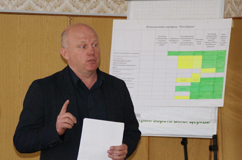 Белоцерковский горсовет решил уволить директора БВАК
