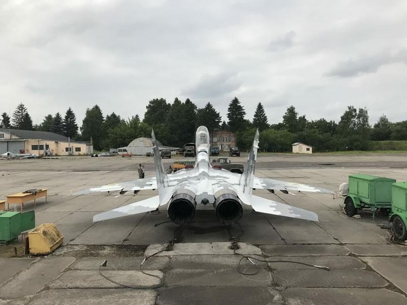 Еще один МиГ-29УБ готов пополнить состав Воздушных Сил