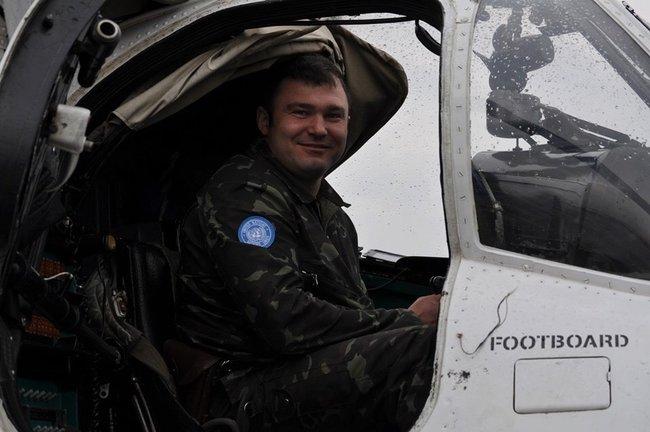 Броды простятся с пилотами вертолета Ми-8