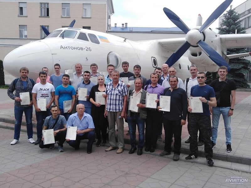 Специалисты аэродромных служб прошли переподготовку в НАУ
