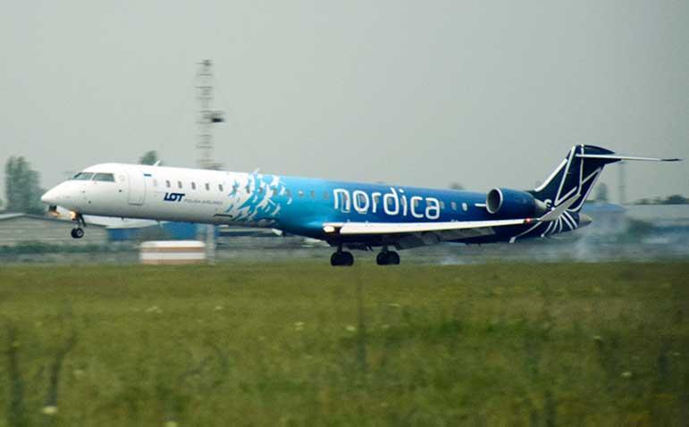 Nordica отказывается от рейсов в Киев