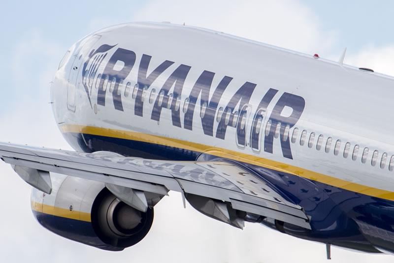 Загрузка на рейсах Ryanair Киев-Быдгощ практически полная