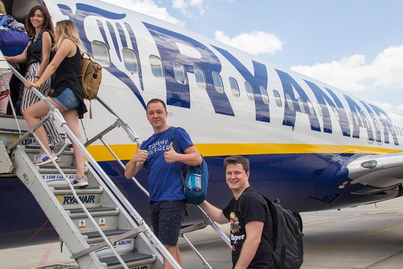 Ryanair планирует перевезти между Украиной и Польшей полмиллиона пассажиров за год