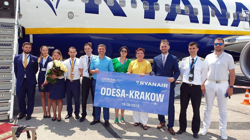Ryanair объявил распродажу на авиабилеты из Одессы в честь первого рейса