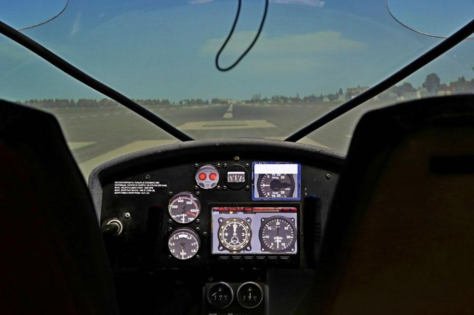 Зал авиасимуляторов открылся в Музее авиации