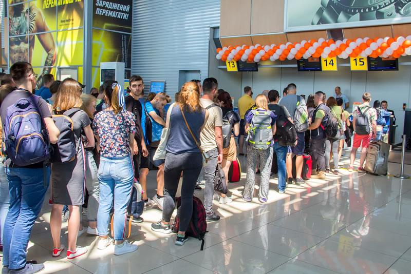 SkyUp Airlines наращивает сотрудничество с аэропортом «Харьков»