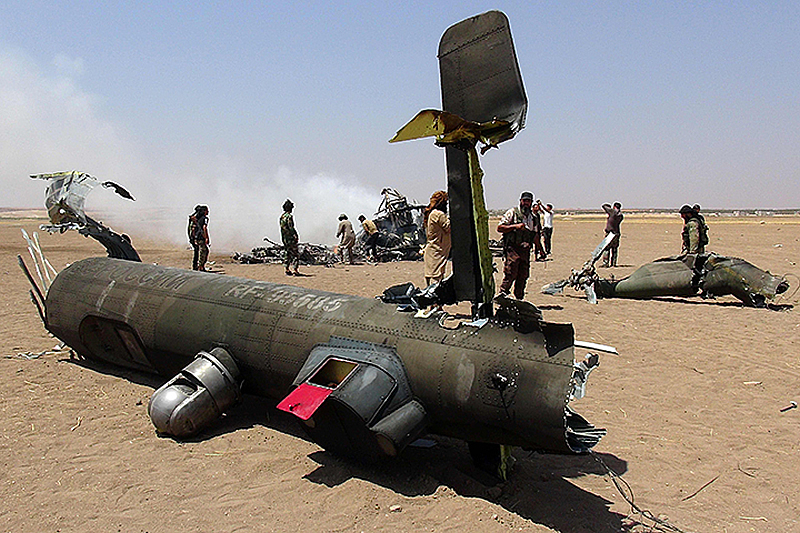 Вертолеты российских оккупантов начали летать со включенным РЭБ