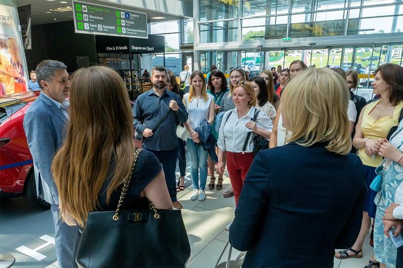 Аэропорт «Киев» и Alitalia провели мероприятие для партнеров