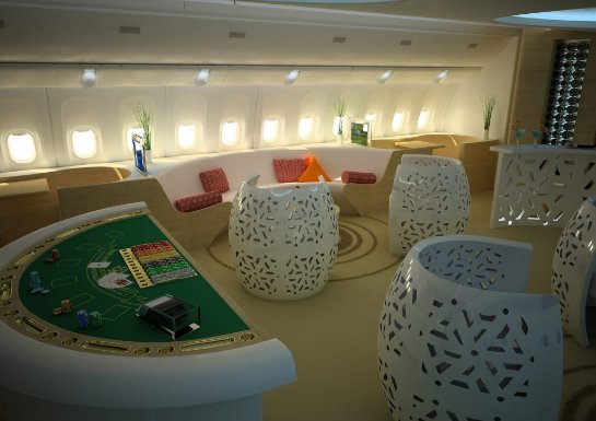 Азартные заведения на самолетах и паромах