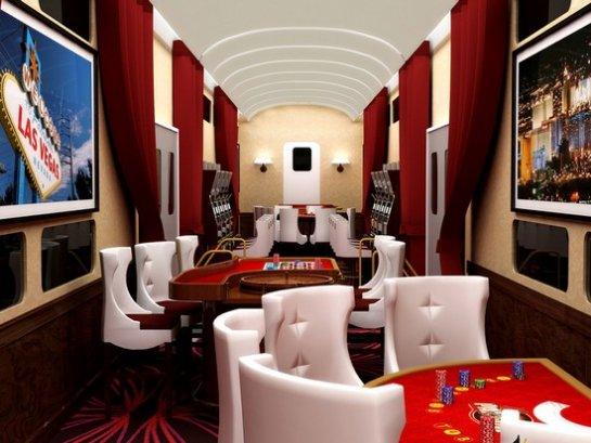 Бизнес идея: поезд- казино или самолет – казино