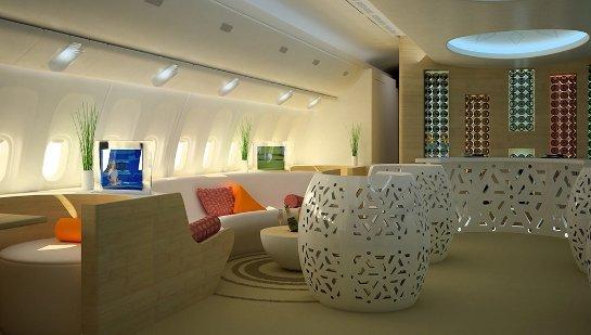 Во Франции создали концепт казино на борту самолета