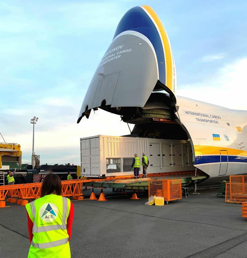 «Авиалинии Антонова» перевезли 400 тонн груза в Нигер