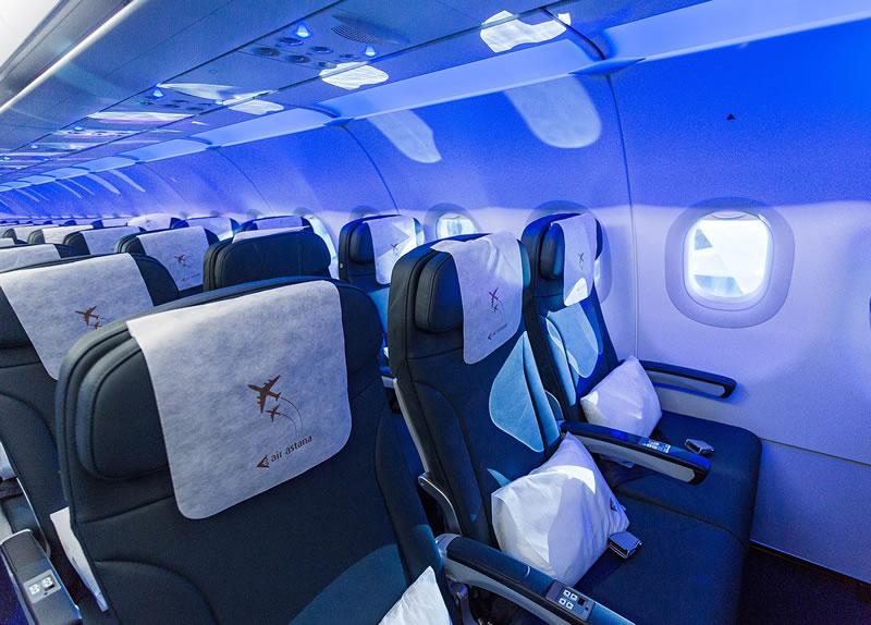 Флот авиакомпании Air Astana пополняется двумя самолетами Airbus A320neo