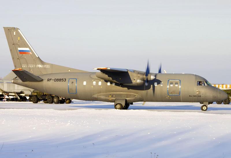 В России Ан-140 ВМФ не могут отремонтировать без Украины