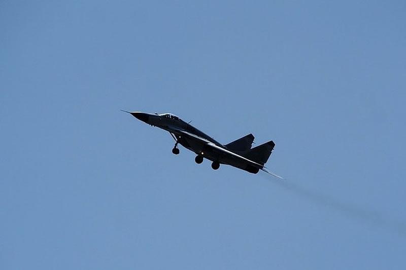 Самолет ВВС Азербайджана потерпел крушение в ходе учебно-тренировочных полетов