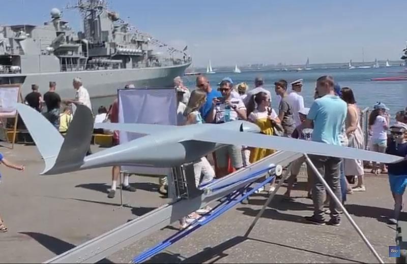 Продолжаются испытания БПЛА «F-2M» для ВМС