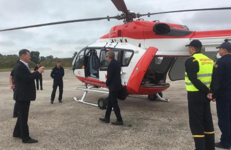 Представители Лесной службы США посетили авиаотряд ГСЧС
