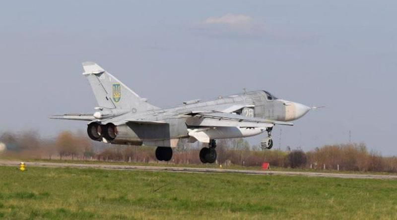 Экипажи Су-24М отрабатывали навыки