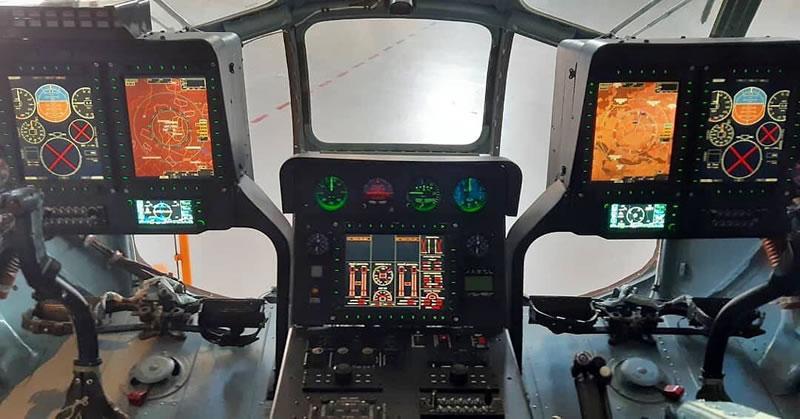 Компания «Мотор Сич» показала «стеклянную кабину» для Ми-8МСБ