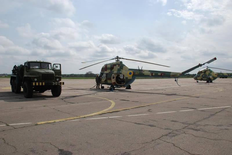 Продолжается летная практика курсантов-вертолетчиков