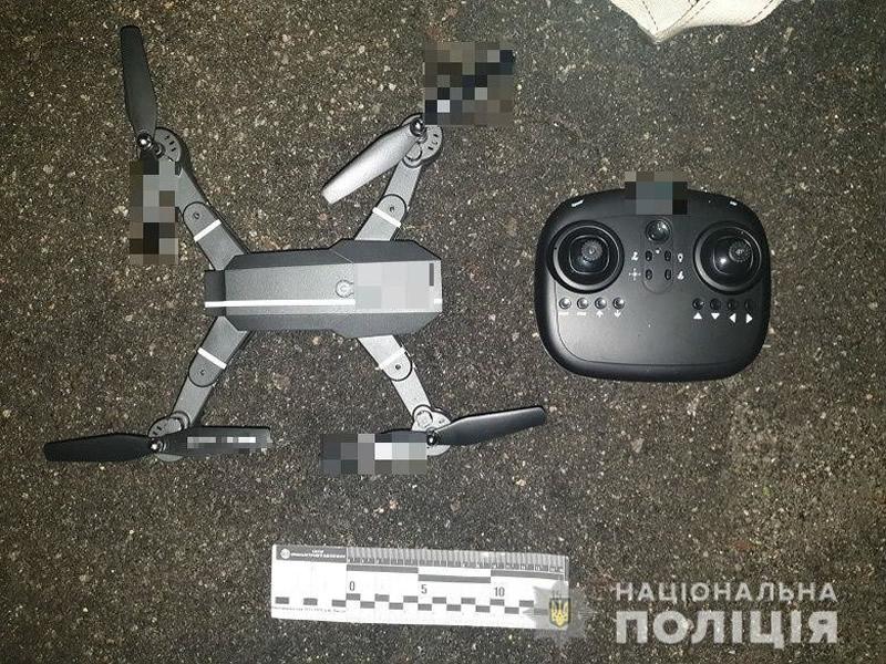 В Киеве парень пытался квадрокоптером доставить наркотики в СИЗО