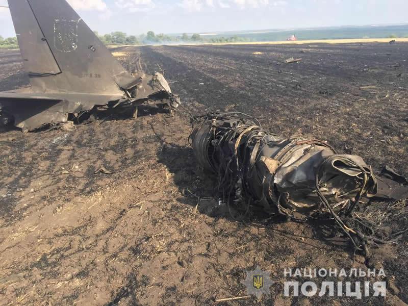 В Харьковской области разбился Л-39