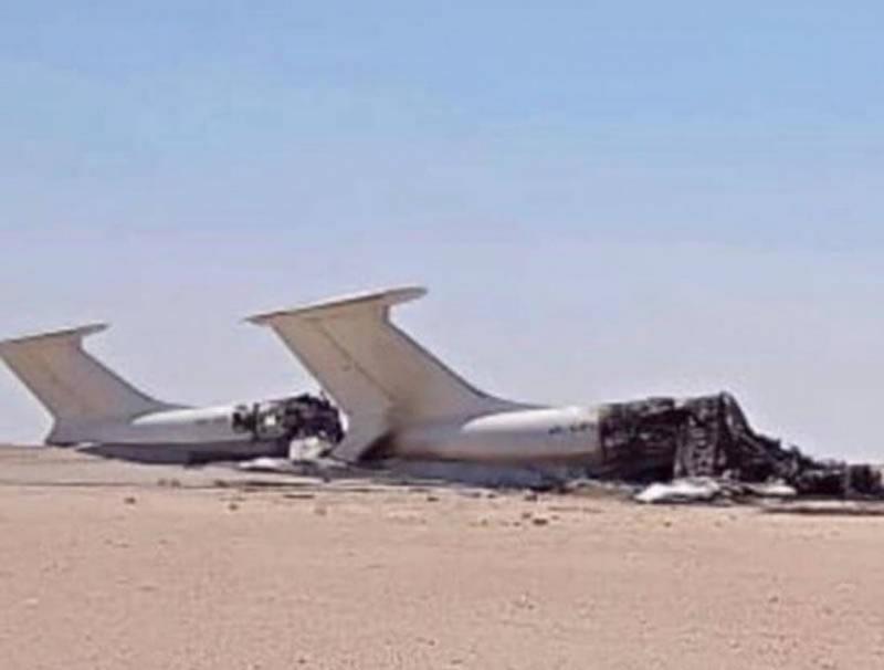 В Ливии уничтожены два украинских Ил-76
