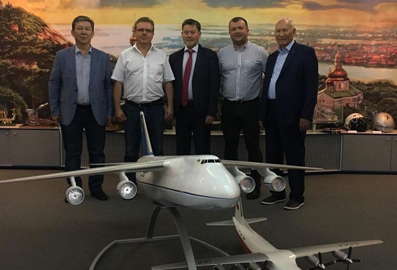 Делегация из Казахстана посетила НАУ