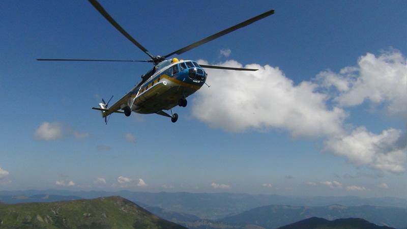 Авиация ГСЧС готовится тушить пожары в горах