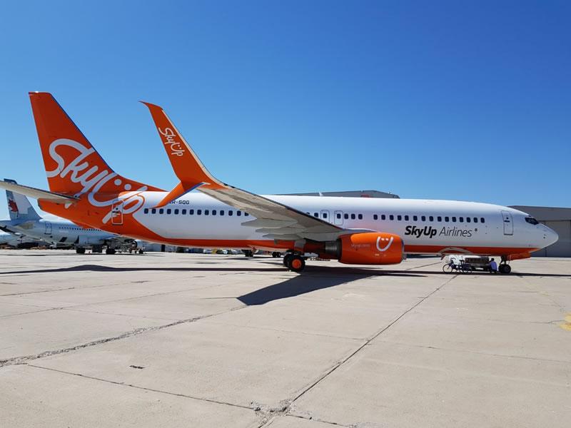SkyUp объявила о трех новых внутренних рейсах