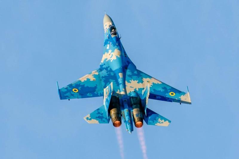 Украинский Су-27 примет участие в авиафестивале в Литве