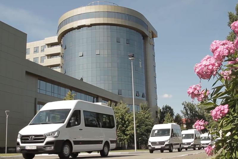 «Украэрорух» получил новые микроавтобусы