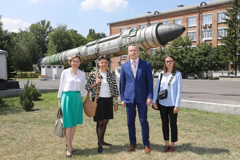 В КБ «Южное» прошло совещание с ЕБРР