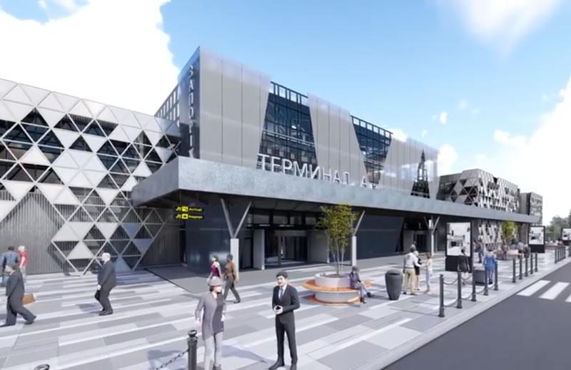 Как будет выглядеть новый терминал запорожского аэропорта