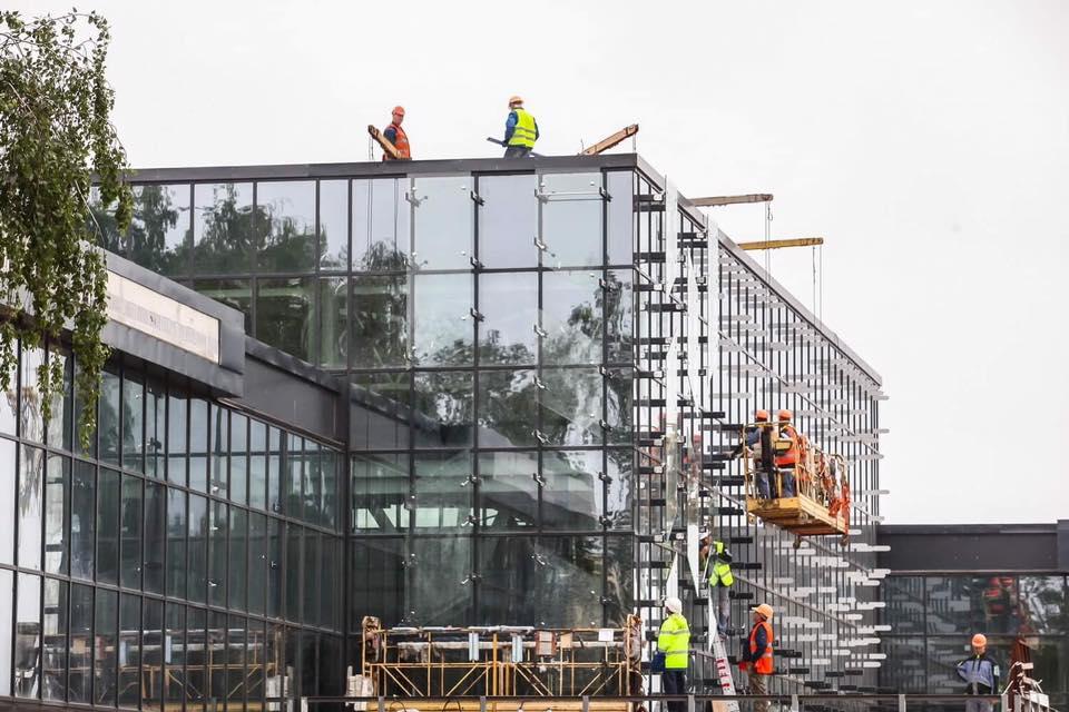 Недостроенный терминал в Запорожье будут перепланировать