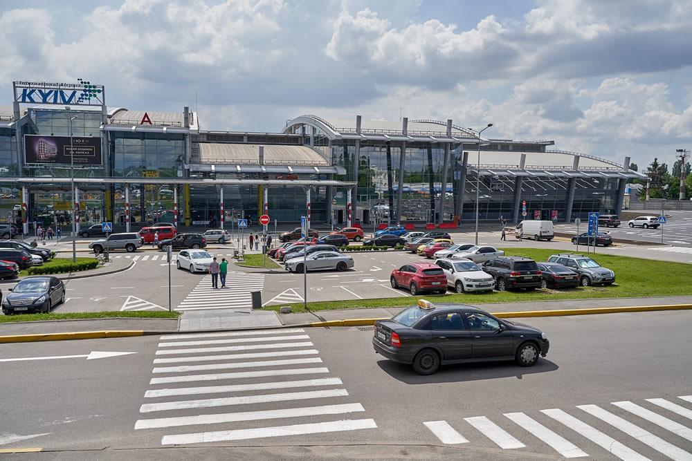 В аэропорту «Киев»  изменились условия парковки