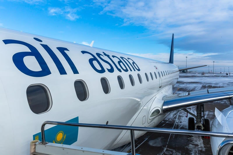 Распахните ворота в Азию с «Эйр Астана»: скидки до 50% на авиабилеты из Киева