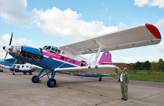 «Мотор Сич» отправила Ан-2 на авиашоу в Россию