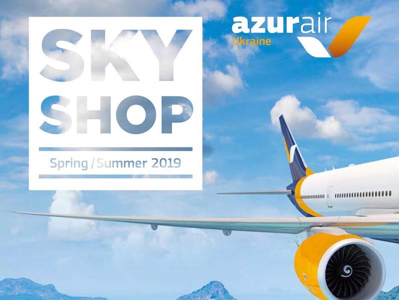 Azur Air открыла Duty Free на борту самолетов