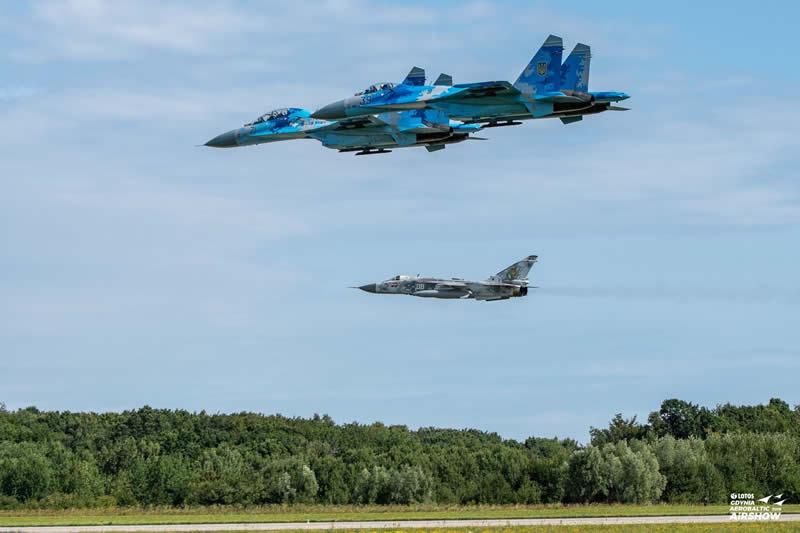 Украинская авиация прибыла в Гдыню