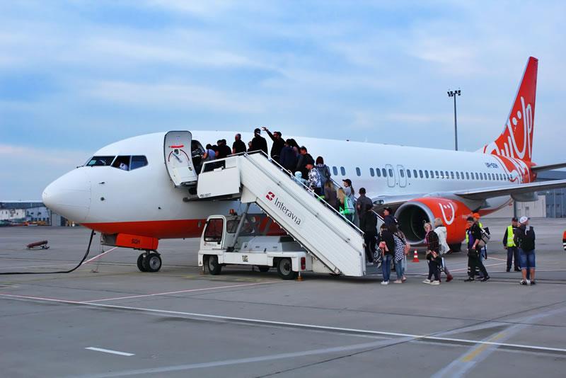 Украина вышла на 2 место в Восточной Европе по авиаперевозкам