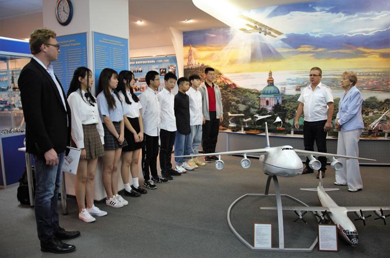 Китайская группа прошла обучение в НАУ