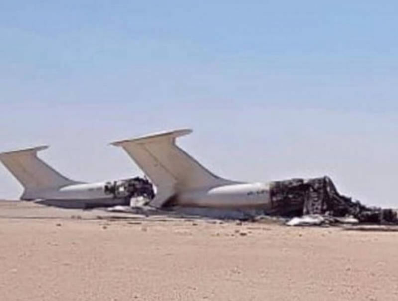 В Ливии уничтожен еще один Ил-76