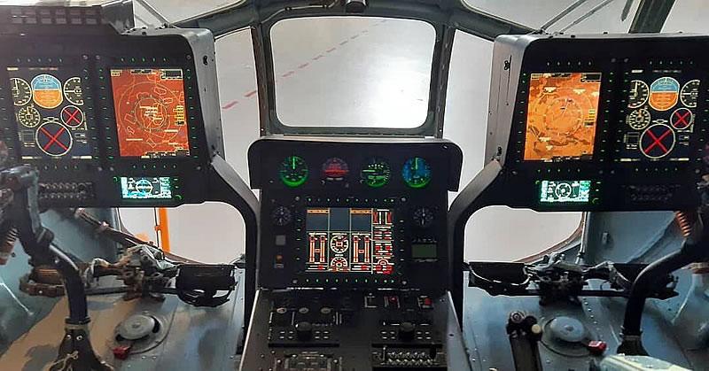 «Мотор Сич» показала стеклянную кабину для Mi-8MSB