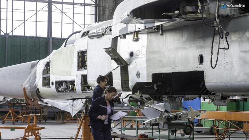НАРП ремонтирует авиатехнику для ВСУ