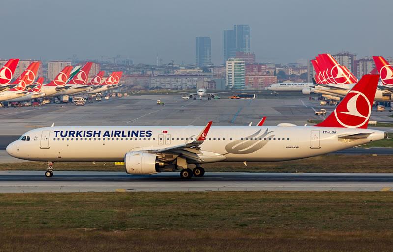 Turkish Airlines не получит два A321-200neo в этом году