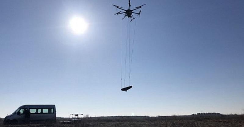 Украинские дроны научились искать мины