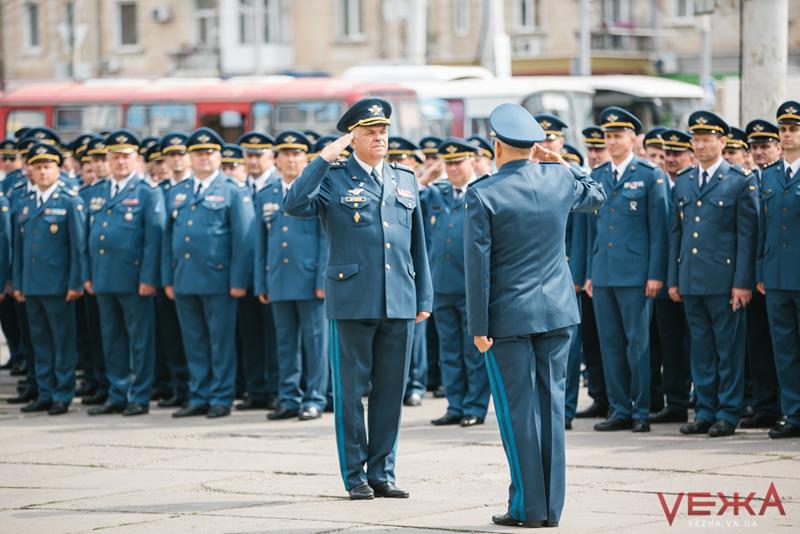 В Виннице отметили годовщину Воздушных Сил